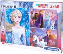 Die Eiskönigin 2 Puzzle mit 3 Puzzles