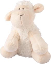 Plüschtier Schaf mit gesticktem Gesicht