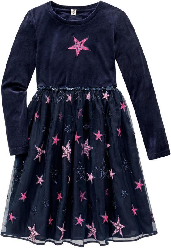 Festliches Mädchen Kleid mit Pailletten