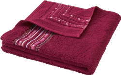 Duschtuch mit Jacquard-Muster