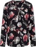 Ernsting's family Damen Bluse mit floralem Allover-Print