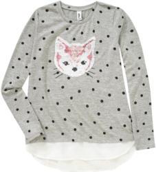 Mädchen Pullover mit Katzen-Motiv