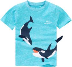 Jungen T-Shirt mit Wal-Print