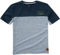 Jungen T-Shirt in Melange-Optik
