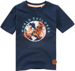 Jungen T-Shirt mit Weltkugel-Print