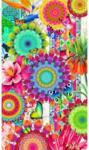 Möbelix Strandtuch ca. 100/180cm Multicolor
