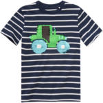 Ernsting's family Jungen T-Shirt mit Trecker-Motiv