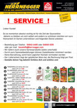 HERRNEGGER - Service für Gartenbedarf