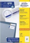 Pagro AVERY ZWECKFORM Universal-Etiketten 3479 7,0 x 3,2 cm 100 Blatt weiß