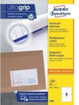 Pagro AVERY ZWECKFORM Universal-Etiketten 3483 10,5 x 14,8 cm 100 Blatt weiß