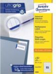 Pagro AVERY ZWECKFORM Universal-Etiketten 3666 3,8 x 2,12 cm 100 Blatt weiß