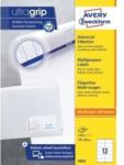 Pagro AVERY ZWECKFORM Universal-Etiketten 3424 10,5 x 4,8 cm 100 Blatt weiß