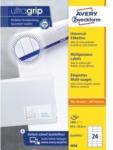 Pagro AVERY ZWECKFORM Universal-Etiketten 3658 6,46 x 3,38 cm 100 Blatt weiß
