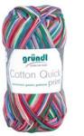 Pagro GRÜNDL Strickgarn Cotton Quick print rot/blau/gelb