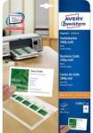 Pagro AVERY ZWECKFORM Superior Visitenkarten C32011-25 8,5 x 5,4 cm 200 g 25 Blatt glänzend weiß
