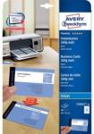 Pagro AVERY ZWECKFORM Premium Visitenkarten C32015-10 8,5 x 5,4 cm 260 g 10 Blatt matt weiß