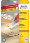 Pagro AVERY ZWECKFORM Universal-Etiketten wiederablösbar L4732REV-10 35,6 x 16,9 mm 10 Blatt weiß
