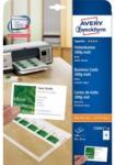 Pagro AVERY ZWECKFORM Superior Visitenkarten C32011-10 8,4 x 4,5 cm 200 g 100 Stück matt weiß