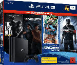 Saturn PlayStation 4 Pro 1TB Naughty Dog Bundle