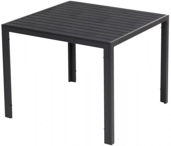 Tisch Mila Alu/Kunststoff ca. 90x90x74cm
