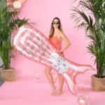 mömax Wels Luftmatratze Mermaid in Rosa