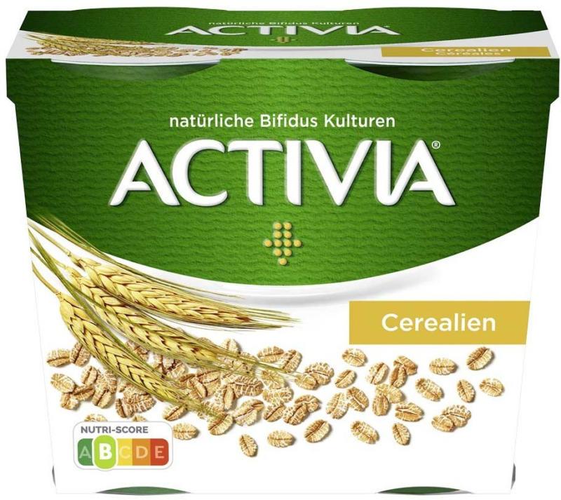 Danone Activia 4 x 115 g = 460 g oder 100 % Pflanzlich 400 g versch. Sorten,  jede Packung/jeder Becher