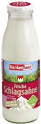 Frankenland Schlagsahne 32 % Fett, jede 500-ml-Flasche (+ 0,15 Pfand)