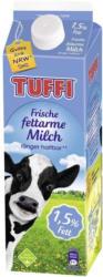 Tuffi frische Milch 1,5/3,5 % Fett, jede 1-Liter-Packung