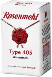 Rosenmehl oder Mehlzauber Weizenmehl Type 405,  jede 2,5-kg-Packung