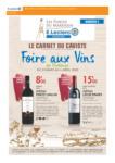 E. Leclerc LE CARNET DU CAVISTE - au 04.04.2020