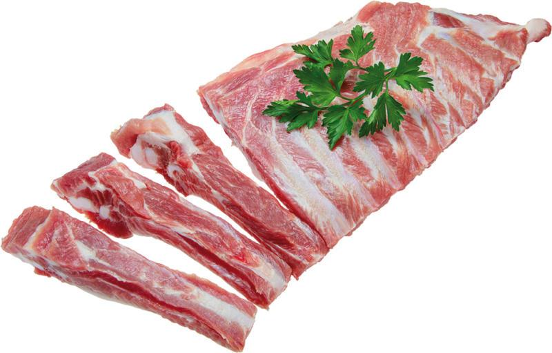 Schälrippen vom Schwein / Spareribs