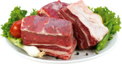 Suppenfleisch vom Rind mit Knochen