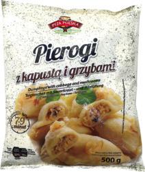 Teigtaschen mit 40% Sauerkraut- und Pilzfüllung