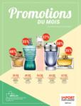 IMPORT PARFUMERIE Promotions du mois - bis 20.04.2020