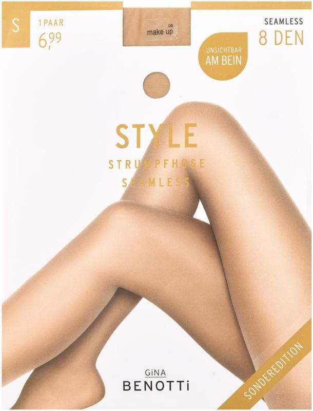 Damen Seamless-Strumpfhose mit 8 DEN (Nur online)