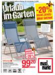 Maximarkt Maximarkt Flugblatt - Urlaub im Garten - bis 02.05.2020
