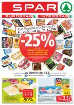 SPAR Flugblatt 19.03. bis 01.04. Salzburg & Tirol