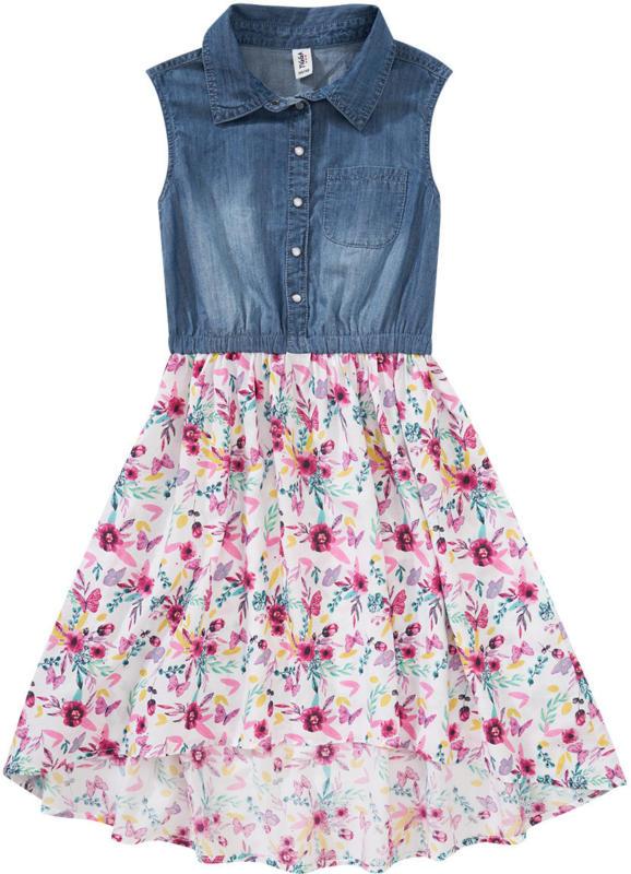 Mädchen Kleid mit Jeans-Oberteil (Nur online)