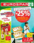 EUROSPAR EUROSPAR Flugblatt 19.03. bis 01.04. Wien, Niederösterreich & Burgenland - bis 01.04.2020