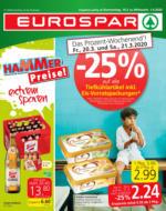 EUROSPAR Flugblatt 19.03. bis 01.04. Wien, Niederösterreich & Burgenland