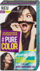 #Pure Color Permanente Gel-Coloration - Nr. 4.0 Zartbitter