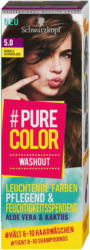 #Pure Color Washout Auswaschbare Gel-Coloration - Nr. 5.0 Dunkle Schokolade