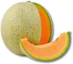 Aromatische Zuckermelone