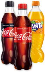 Coca-Cola od. Fanta