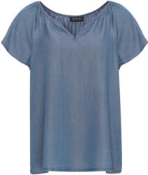 Damen Bluse in Denim-Optik