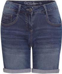 Damen Boyfriend-Jeansshorts mit Used-Waschung