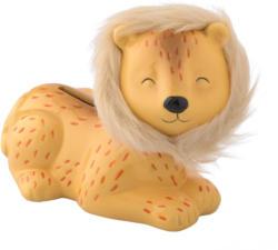 Spardose Löwe mit flauschiger Mähne