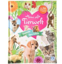 Kinder Buch Meine süße Tierwelt