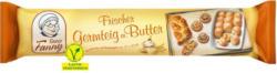 Tante Fanny Frischer Germteig mit Butter