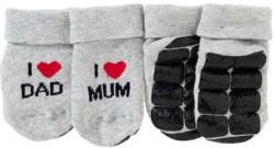 Baby-ABS-Socken mit süßem Spruch